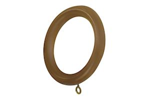 Rolls 55mm Modern Country Light Oak Wooden Rings