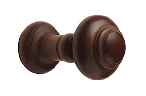Rolls Woodline Wooden Hold Backs Rose Wood