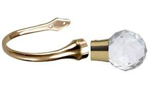 Prifma Hold Backs Antique Brass