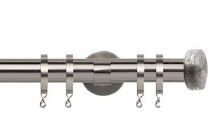 Speedy 28mm Hart IDC Curtain Pole Satin Silver