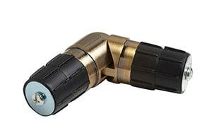 Speedy 28mm Single Corner Joint Antique Brass