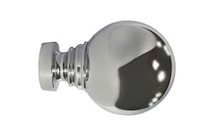 Speedy 35mm Globe Chrome Finial