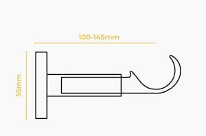 Speedy 35mm IDC Support Bracket Chrome - Thumbnail 2