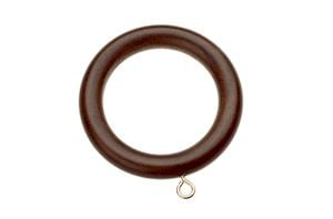 Swish 35mm Naturals Dark Walnut Wooden Rings
