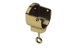Swish 28mm Recess Bracket Antique Brass